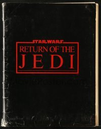 2x029 RETURN OF THE JEDI presskit w/ 16 stills 1983 George Lucas, includes 11 supplements!