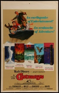 2x248 IN SEARCH OF THE CASTAWAYS WC R1970 Jules Verne, Hayley Mills in an avalanche of adventure!