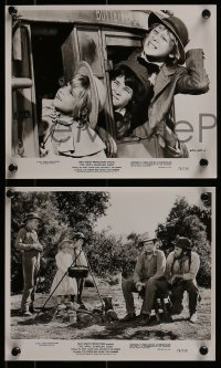 2x754 APPLE DUMPLING GANG 4 8x10 stills 1975 Disney, wacky images of Don Knotts & Tim Conway!