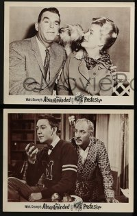 2x525 ABSENT-MINDED PROFESSOR 5 LCs 1961 Walt Disney, Flubber, Fred MacMurray in the title role!