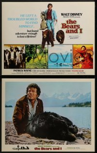 2x475 BEARS & I 8 LCs 1974 Patrick Wayne left a troubled world & found adventure, Walt Disney