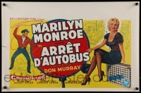2z975 BUS STOP 14x21 Belgian REPRO poster 2000s Don Murray and sexy Marilyn Monroe!