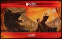 2z690 HARRY POTTER & THE DEATHLY HALLOWS 22x36 special poster 2007 cool art by Mary Grandpere!