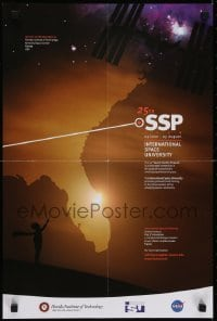 2z714 INTERNATIONAL SPACE UNIVERSITY 16x24 special poster 2012 ISU, France, cool artwork!
