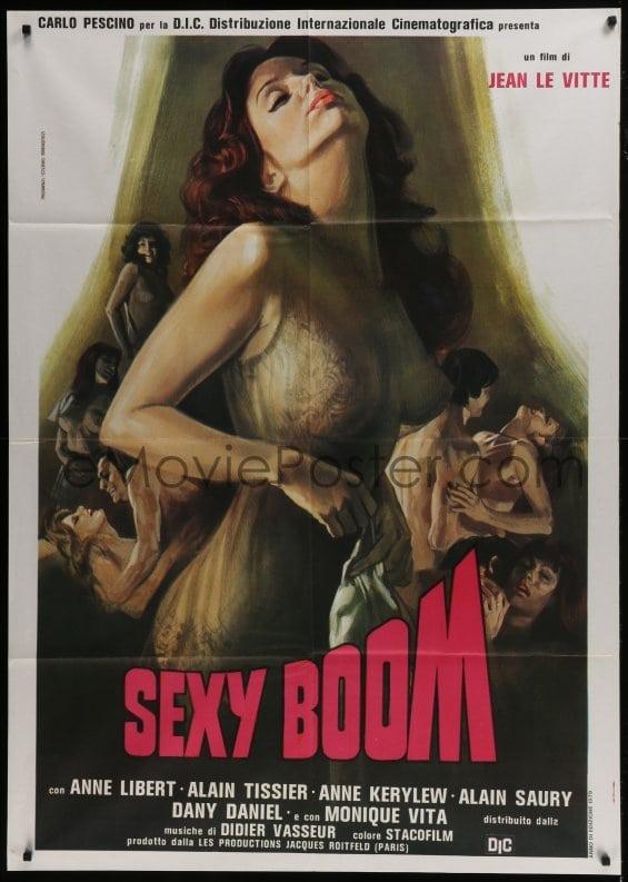 1 of 1 : 3p298 EROTIC BAZAAR Italian 1p 1979 La Kermesse Erotique, Piovano  art of Anne Libert, Sexy Boom!