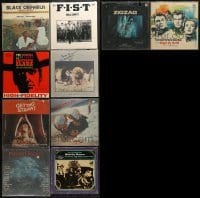 3s014 LOT OF 10 MOVIE SOUNDTRACK ALBUM 33 1/3 RPM RECORDS 1960s-1980s from a variety of movies!