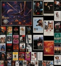 3s042 LOT OF 79 FOLDED ONE-SHEETS AND VIDEO POSTERS 1980s-1990s image from a variety of movies!