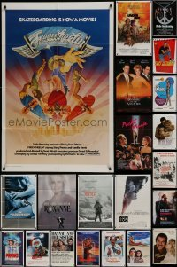 3s049 LOT OF 67 FOLDED ONE-SHEETS 1970s-1990s great images from a variety of different movies!