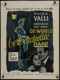 3t002 WORLD CONDEMNS THEM Dutch 1953 Il Mondo le condanna, sexy prostitute Alida Valli!