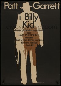 3t723 PAT GARRETT & BILLY THE KID Polish 23x32 1975 James Coburn, Kristofferson, Wasilewski art!