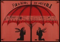 3t732 ST. PETER'S UMBRELLA Polish 23x34 1961 Szent Peter esernyoje, Starowieyski art of devils!