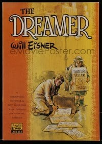 3x006 DREAMER graphic novel 1986 Will Eisner's graphic novella set during the dawn of comic books!