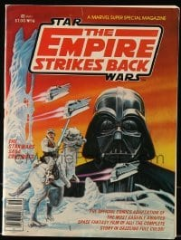 3x007 EMPIRE STRIKES BACK comic book 1980 Marvel Super Special Magazine #16, great cover art!