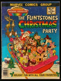 3x008 FLINTSTONES CHRISTMAS PARTY vol 1 comic book 1977 from Hanna Barbera & Marvel Comics Group!