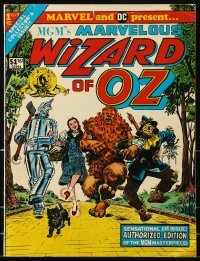 3x014 WIZARD OF OZ comic book 1975 sensational 1st issue authorized by MGM to Marvel & DC!