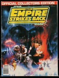 3x032 EMPIRE STRIKES BACK magazine 1980 collectors edition, has full credits on inside covers!