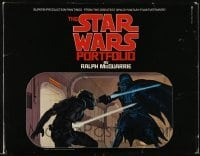 3x058 STAR WARS art portfolio w/ 21 prints 1980 contains rare McQuarrie art that was never used!