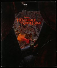 3x064 HUNCHBACK OF NOTRE DAME promo brochure 1996 Walt Disney, contains a 20x23 fold-out poster!