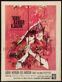 3x068 MY FAIR LADY promo brochure 1964 special pitch from Warner Bros. for Oscar consideration!