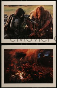 3x057 QUEST FOR FIRE #277/500 signed portfolio + 8 deluxe stills 1982 by photographer Ernst Haas!