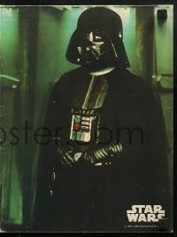 3x025 STAR WARS set of 4 10x13 commercial school folders 1977 all with scenes from the movie!