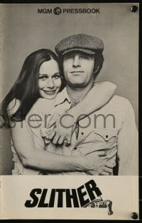 3x894 SLITHER pressbook 1973 Sally Kellerman hugging James Caan, together at last!