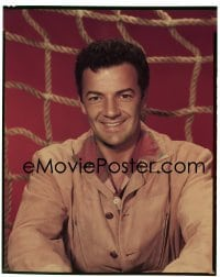 4d017 GREATEST SHOW ON EARTH 8x10 transparency 1952 Cornel Wilde smiling portrait by Bud Fraker!