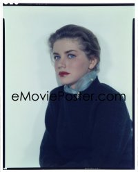 4d023 KING CREOLE 8x10 transparency 1958 great Paramount portrait of beautiful Dolores Hart!