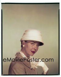 4d029 MAN WHO KNEW TOO MUCH 8x10 transparency 1956 Doris Day about to sing Que Sera, Sera!