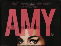 4f872 AMY DS British quad 2015 super close up of Amy Winehouse, the girl behind the name!