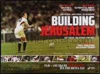 4f886 BUILDING JERUSALEM advance DS British quad 2015 rugby, one dream, one chance, one kick!