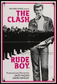 4f860 RUDE BOY English double crown 1980 completely different image with Ray Gange & police!