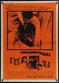 4f052 ASSIGNMENT TO KILL South African 1969 Patrick O'Neal, Joan Hackett, Herbert Lom!