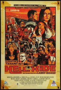 4f056 HELL RIDE South African 2008 really cool art of motorcycle gang, different Tyler Stout art!