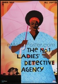4f057 NO. 1 LADIES' DETECTIVE AGENCY South African 2008 cool art of Anika Noni Rose!