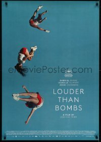 4f048 LOUDER THAN BOMBS Swiss 2015 Gabriel Byrne, Isabelle Huppert, Eisenberg, athletic gymnasts!