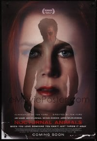 4f050 NOCTURNAL ANIMALS advance DS Swiss 2016 Tom Ford, Jake Gyllenhaal behind Amy Adams' portrait!