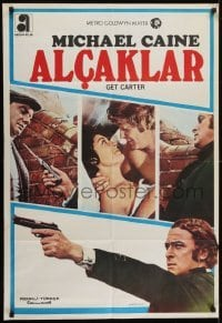 4f068 GET CARTER Turkish 1971 cool different images of Michael Caine!