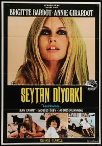 4f071 NOVICES Turkish 1975 great images of sexy Brigitte Bardot & Annie Girardot!