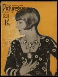 4h870 PICTUREGOER English magazine March 1926 great cover portrait of pretty Claire Windsor!
