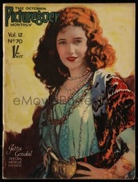 4h875 PICTUREGOER English magazine October 1926 great cover portrait of pretty Jetta Goudal!