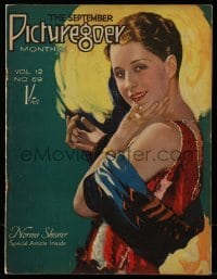 4h874 PICTUREGOER English magazine September 1926 great cover portrait of sexy Norma Shearer!