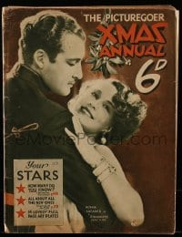 4h856 PICTUREGOER XMAS ANNUAL English magazine 1931 Norma Shearer in Strangers May Kiss!