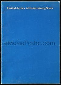 4j027 UNITED ARTISTS 1979-80 campaign book 1979 Apocalypse Now, Raging Bull, Clash of the Titans!
