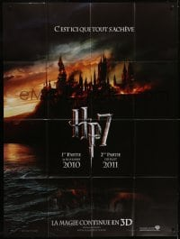 4j797 HARRY POTTER & THE DEATHLY HALLOWS PART 1 & PART 2 teaser French 1p 2010 it all ends here!