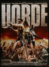 4j806 HORDE French 1p 2009 Yannick Dahan & Benjamin Rocher French zombie movie, great image!