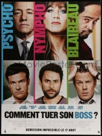 4j807 HORRIBLE BOSSES advance French 1p 2011 Jason Bateman, Aniston, Colin Farrell, Day, Spacey!