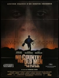 4j888 NO COUNTRY FOR OLD MEN French 1p 2007 The Coens, Josh Brolin, Javier Bardem, Tommy Lee Jones!