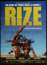 4j925 RIZE French 1p 2005 cool image from music dance documentary directed by David LaChapelle!
