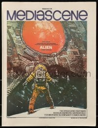 4j019 MEDIASCENE magazine January-February 1979 great different art for Alien & Star Wars!